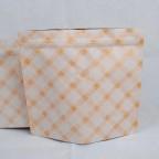 夾鏈站立包裝袋咖啡袋印刷白金日式袋型半磅227g底部