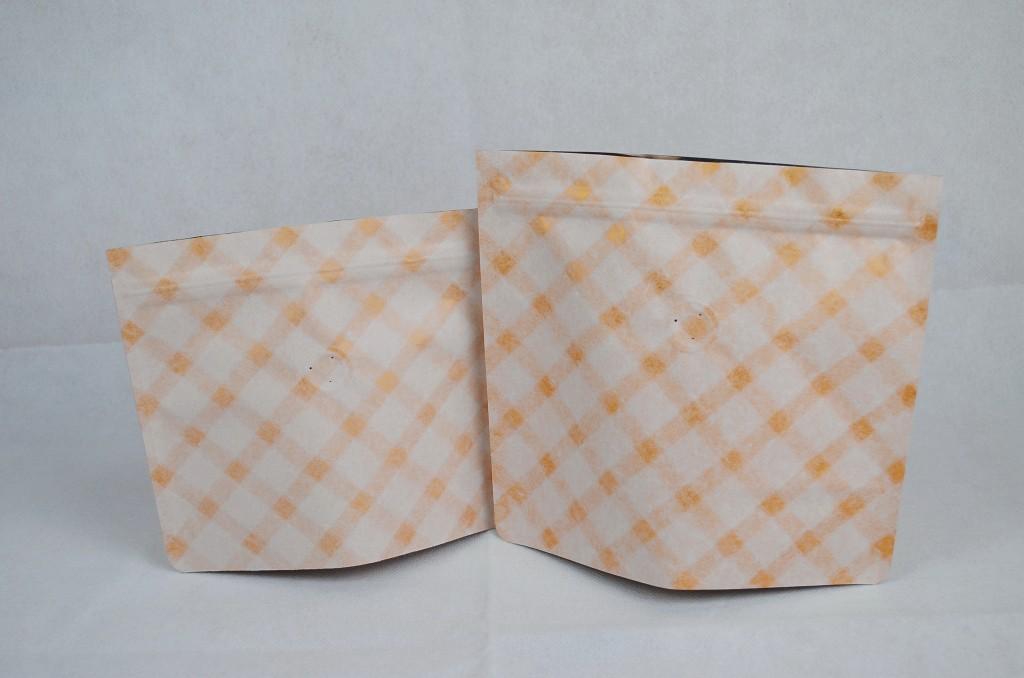 白金夾鏈站立包裝袋咖啡袋印刷日式袋型半磅