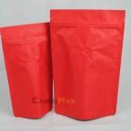 公版夾鏈站立袋-四分之一磅 120克4ozkraftcoffeezipperbag