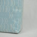 合掌夾邊咖啡茶葉包裝袋-米白印刷底紋3