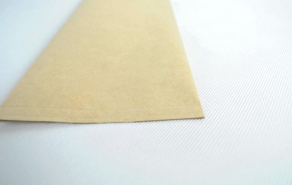 咖啡豆包裝袋材料夾鏈站立袋掛耳袋合掌夾邊袋-牛皮紙2