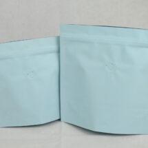 夾鏈站立包裝袋咖啡袋印刷藍色日式袋型半磅227g2