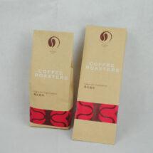 牛皮紙咖啡茶葉合掌包裝袋印刷-套色印刷1