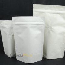 米白色公版夾鏈站立袋-1kg一磅454g半磅227g四分之一磅 120克4oz8oz16ozdeepwhitecoffeezipperbag1