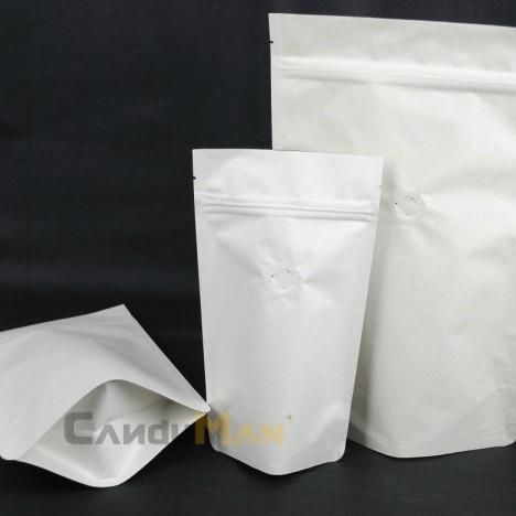 米白色公版夾鏈站立袋-1kg一磅454g半磅227g四分之一磅 120克4oz8oz16ozdeepwhitecoffeezipperbag2