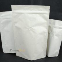 米白色公版夾鏈站立袋-1kg一磅454g半磅227g四分之一磅 120克4oz8oz16ozdeepwhitecoffeezipperbag3