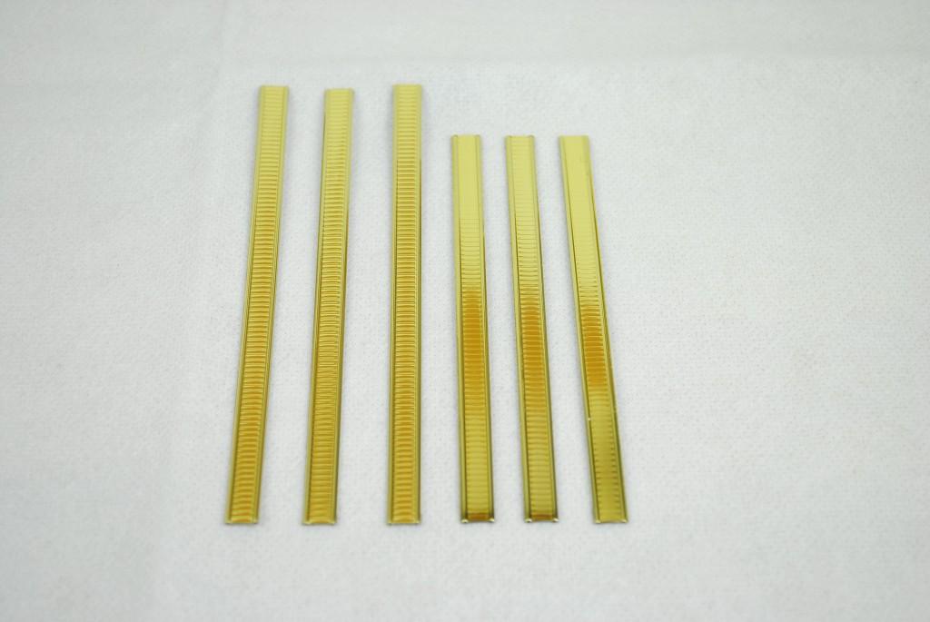 自黏密封壓條封口壓條金箍棒封口棒金色1
