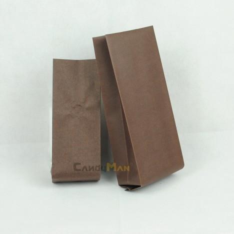 深咖啡色公版合掌夾邊袋-1kg一磅454g半磅227g四分之一磅 120克50克50g4oz8oz16ozdeepbrowncoffeebagwithvalvecenter seal bag1