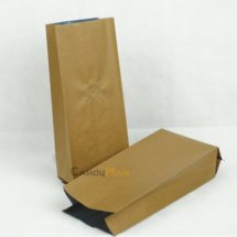 金咖啡色公版合掌夾邊袋-1kg一磅454g半磅227g四分之一磅 120克50克50g4oz8oz16ozdeepbrowncoffeebagwithvalvecenter seal bag789