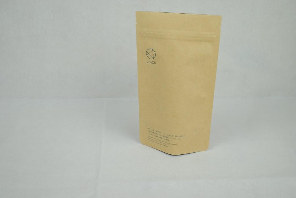 牛皮紙夾鏈袋印刷、小量客製化、單色印刷2