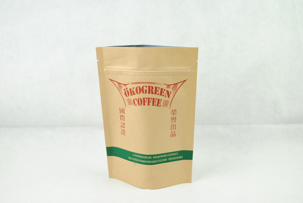 特殊色印刷 牛皮紙 夾鏈袋印刷 white ink printing zipper bag printing