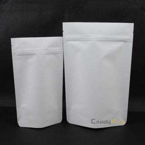 白牛皮夾鏈站立袋 掛耳袋 咖啡茶葉包裝袋