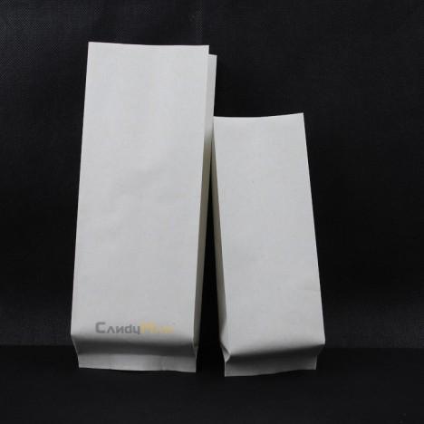 繁星米白色四分之一磅咖啡豆包裝袋有透氣閥