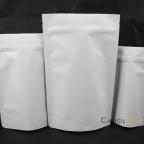 白牛皮紙夾鏈站立包裝袋,紙鋁袋,鋁箔袋,霧面包裝袋,只包裝袋,食品袋,寵物糧食袋 (2)